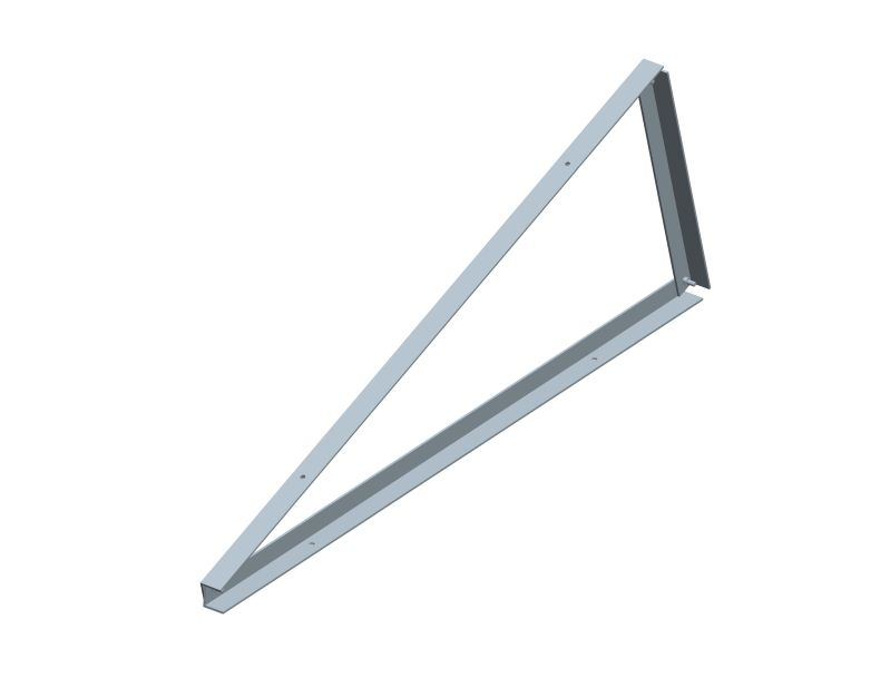 Pre-assembled triangle support