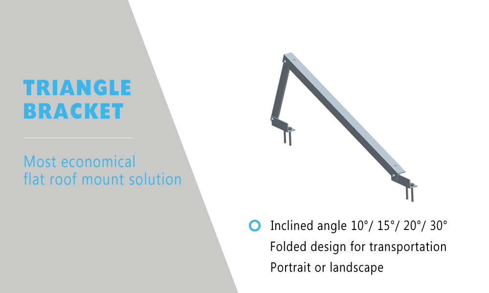 Triangle solar structure manufacturer