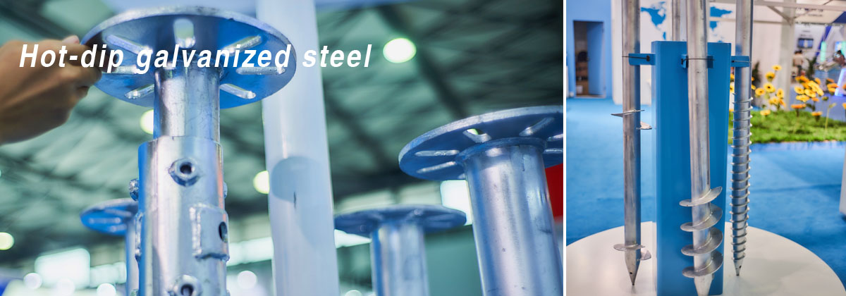 Antaisolar Hot-dip galvanized steel